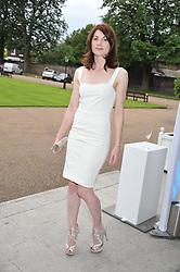 JODIE WHITTAKER at the English National Ballet Summer Party held at The Orangery, Kensington Palace, London on 27th June 2012.