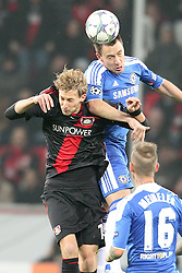 23.11.2011, BayArena, Leverkusen, Germany, UEFA CL, Gruppe E, Bayer 04 Leverkusen (GER) vs Chelsea FC (ENG), im Bild Kopfball/ Kopfballduell zwischen Stefan Kiessling (Leverkusen #11) gegen John Terry (Chelsea #26) // during the football match of UEFA Champions league, group E, between Bayer Leverkusen (GER) and FC Chelsea (ENG) at BayArena, Leverkusen, Germany on 2011/11/23.EXPA Pictures © 2011, PhotoCredit: EXPA/ nph/ Mueller..***** ATTENTION - OUT OF GER, CRO *****