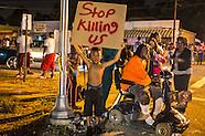 Vigil for Alton Sterling in Baton Rouge, LA