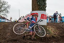 Marlene Petit (FRA), Women, Cyclo-cross World Cup Hoogerheide, The Netherlands, 25 January 2015, Photo by Pim Nijland / PelotonPhotos.com
