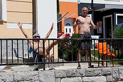 Fans at prologue (17,8km) of Tour de Slovenie 2012, on June 17 2012, in Ljubljana, Slovenia. (Photo by Matic Klansek Velej / Sportida.com)