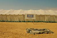 Camp Victory, Kuweit<br /> <br /> Sergeant Major of the Army USO Tour, December 2004<br /> <br /> with Al Franken, Karri Turner, Daryll Worley, Mark Wils<br /> <br /> photograph by <br /> Owen Franken