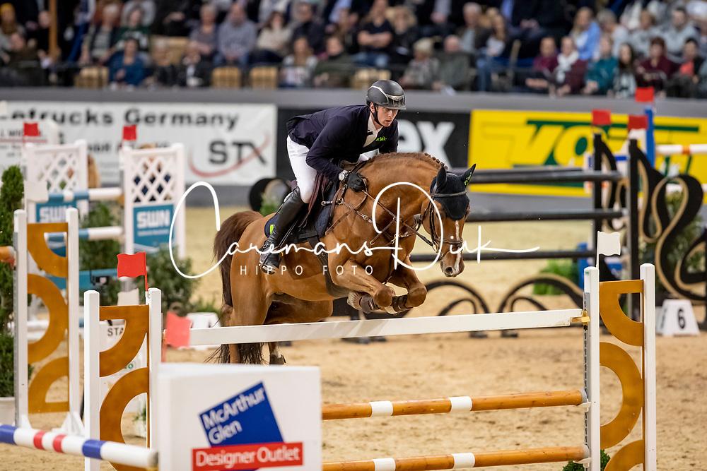 Hassmann Felix, GER, Horse Gym's Balzaci<br /> Grand Prix Jumping<br /> Neumünster - VR Classics 2019<br /> © Hippo Foto - Stefan Lafrentz