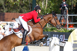 Philippaerts Nicola (BEL) - Cortez<br /> Furusiyya FEI Nations Cup Jumping Final Round 1<br /> CSIO Barcelona 2013<br /> © Dirk Caremans