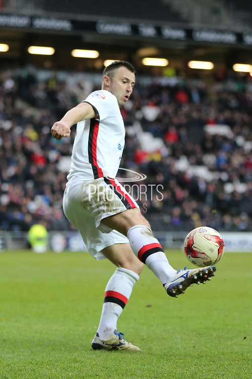 Milton Keynes Dons defender Antony Kay (6) during the Sky Bet Championship match between Milton Keynes Dons and Brighton and Hove Albion at stadium:mk, Milton Keynes, England on 19 March 2016.