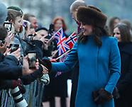 The Duke and Duchess of Cambridge - 1 Feb 2018