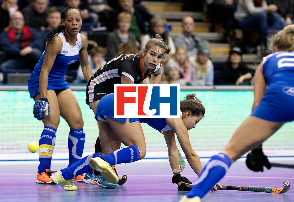 BERLIN - Indoor Hockey World Cup<br /> Women: Germany - Namibia<br /> foto: Lisa Altenburg.<br /> WORLDSPORTPICS COPYRIGHT FRANK UIJLENBROEK