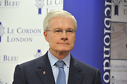 The French Ambassador to the UK H.E. BERNARD EMIE at the Grand Opening of Le Cordon Bleu's International Flagship School at 15 Bloomsbury Square, London WC1 on 7th February 2012.
