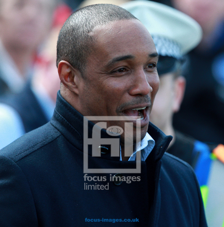 Picture by Paul Terry/Focus Images Ltd +44 7545 642257.20/04/2013.Paul Ince, manager of Blackpool during the npower Championship match at the American Express Community Stadium, Brighton and Hove.
