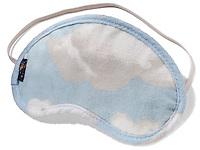 Cloud sleep mask on white background
