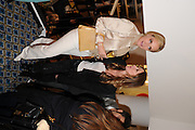 CAROLE RADZIWILL; SONYA MORGAN;, Jonathan Adler Store opening. Sloane St. London. 16 November 2011. <br /> <br />  , -DO NOT ARCHIVE-© Copyright Photograph by Dafydd Jones. 248 Clapham Rd. London SW9 0PZ. Tel 0207 820 0771. www.dafjones.com.