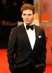©London News Pictures. 13/02/2011. Actor Sam Claflin Arriving at BAFTA Awards Ceremony Royal Opera House Covent Garden London on 13/02/2011. Photo credit should read: Peter Webb/London News Pictures