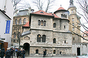 The Jewish cemetery, museum, and synagogue in Prague, Czech Republic