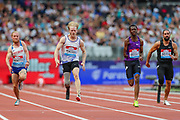 Men's T44-64 100m during the Muller Anniversary Games 2019 at the London Stadium, London, England on 20 July 2019.