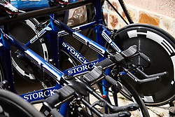 Team Virtu Cycling Women at Emakumeen Bira 2018 - Stage 2, a 26.6 km time trial from Agurain to Gasteiz, Spain on May 20, 2018. Photo by Sean Robinson/Velofocus.com