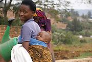 Rwanda, Kigali Local Woman with baby
