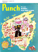 Punch (Front cover, 28 July 1971)