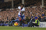 Crystal Palace defender Pape Souare  during the Barclays Premier League match between Everton and Crystal Palace at Goodison Park, Liverpool, England on 7 December 2015. Photo by Simon Davies.