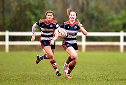 Sophie Peters of Bristol Ladies - Mandatory by-line: Paul Knight/JMP - 03/02/2018 - RUGBY - Cleve RFC - Bristol, England - Bristol Ladies v Harlequins Ladies - Tyrrells Premier 15s