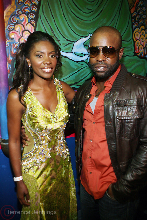 l to r: Jael Gadsden and Tarik aka Black Thought at The Common and Friends Benefit concert for The Common Ground Foundation held at  The House of Blues in Chicago on September 26, 2008..The Common Ground Foundation was created by Hip Hop artist, actor and children?s author Lonnie Rashid Lynn, known as ?Common?. Common?s social-conscience message serves as inspiration for equality, opportunity and hope among youth in underserved communities. The Foundation is committed to empowering youth in urban neighborhoods and providing life skills needed to achieve their dreams..