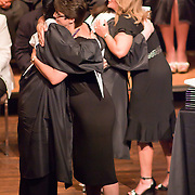 060311 Wilmington DE: Cab Calloway student hugs Juile A. Rumschlag during awards segment at Cab Calloway commencement exercise Friday, June 3, 2011 at The Grand Opera House In Wilmington Delaware...Special to The News Journal/SAQUAN STIMPSON
