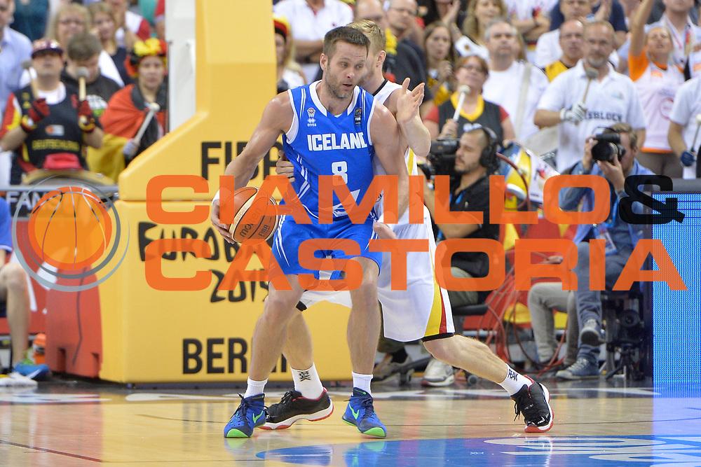 DESCRIZIONE : Berlino Berlin Eurobasket 2015 Group B Iceland Germany <br /> GIOCATORE :  Hlynur Baeringsson<br /> CATEGORIA : Controcampo curiosit&agrave;<br /> SQUADRA : Iceland<br /> EVENTO : Eurobasket 2015 Group B <br /> GARA : Iceland Germany <br /> DATA : 06/09/2015 <br /> SPORT : Pallacanestro <br /> AUTORE : Agenzia Ciamillo-Castoria/I.Mancini <br /> Galleria : Eurobasket 2015 <br /> Fotonotizia : Berlino Berlin Eurobasket 2015 Group B Iceland Germany