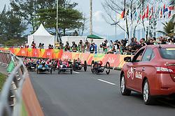 Cycling, Road Race, H4 à Rio 2016 Paralympic Games, Brazil