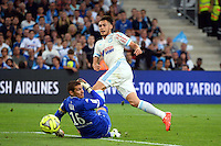 But Lucas OCAMPOS - 23.05.2015 - Marseille / Bastia - 38e journee Ligue 1<br />