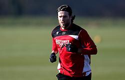 Adam Matthews of Bristol City takes part in training - Mandatory by-line: Robbie Stephenson/JMP - 19/01/2017 - FOOTBALL - Bristol City Training Ground - Bristol, England - Bristol City Training