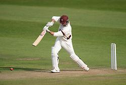 Somerset's Marcus Trescothick hits the ball. - Mandatory byline: Alex James/JMP - 07966386802 - 09/09/2015 - FOOTBALL -  - The County Ground - Taunton  - Somerset v Hampshire - LV CC -