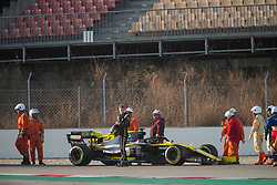February 21, 2019 - Barcelona, Spain - 27 HULKENBERG Nico (ger), Renault Sport F1 Team RS19, action during Formula 1 winter tests from February 18 to 21, 2019 at Barcelona, Spain - Photo  Motorsports: FIA Formula One World Championship 2019, Test in Barcelona, (Credit Image: © Hoch Zwei via ZUMA Wire)