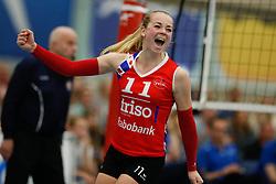 20170430 NED: Eredivisie, VC Sneek - Sliedrecht Sport: Sneek<br />Roos van Wijnen (11) of VC Sneek  <br />&copy;2017-FotoHoogendoorn.nl / Pim Waslander