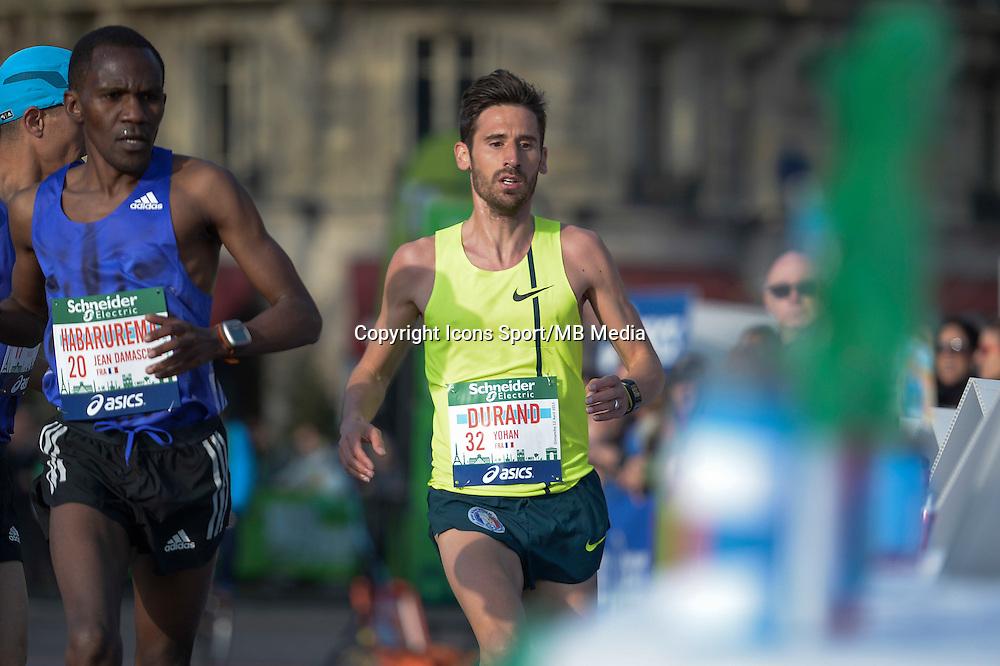 Yohan Durand - 12.04.2015 - Marathon de Paris 2015<br />Photo :  Andre Ferreira  / Icon Sport