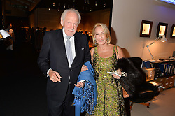 BARON VON BUCH and Liliana Innocenti at the PAD London 10th Anniversary Collector's Preview, Berkeley Square, London on 3rd October 2016.