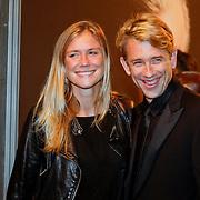 NLD/Amsterdam/20111017 - Premiere De Heineken Ontvoering, Sophie Hilbrand en partner Waldemar Torenstra
