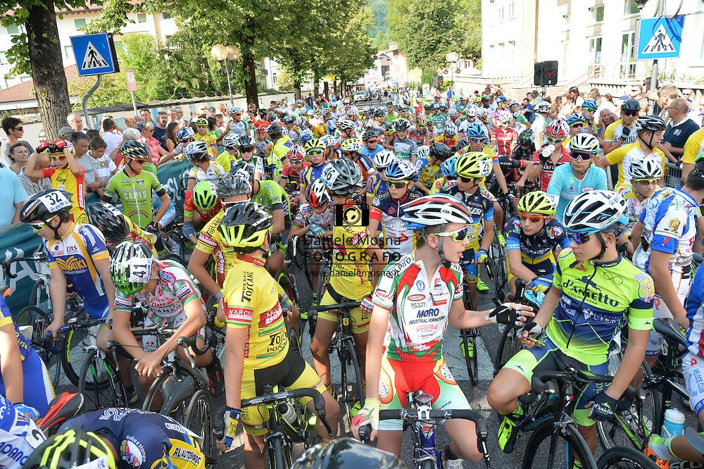 Ciclismo giovanile, 10A Coppa di Sera, Esordienti Primo Anno Maschile, Borgo Valsugana 10 settembre 2016 © foto Daniele Mosna