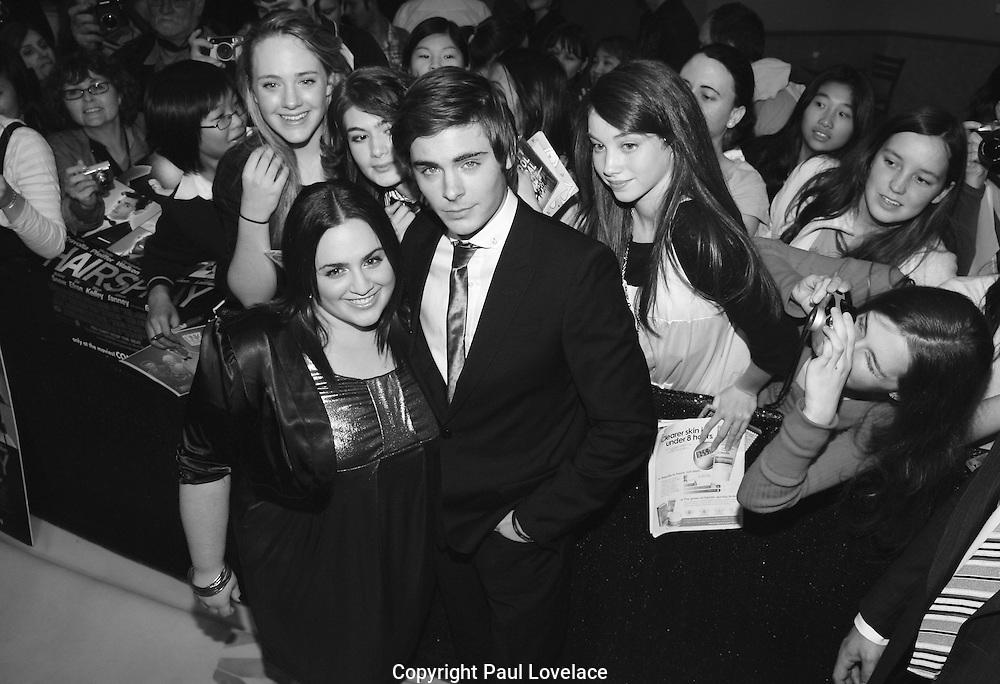 Zac Efron with fan at Hairspray Premiere, Sydney, Australia- 5 Sep 2007.<br /> An instant sale option is available where a price can be agreed on image useage size. Please contact me if this option is preferred. An instant sale option is available where a price can be agreed  on image useage. Please contact me if this option is preferred.