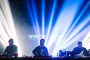 Gramatik performs at the Showbox Market in Seattle, WA on Friday, April 24, 2015.