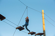 College of Southern Idaho Challenge Rope Course Twin Falls, Idaho.