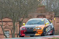 #16 Andy MARSTON/Brett EVANS BMW E46 M3  during Cartek Club Enduro Championship as part of the 750 Motor Club at Oulton Park, Little Budworth, Cheshire, United Kingdom. April 14 2018. World Copyright Peter Taylor/PSP.