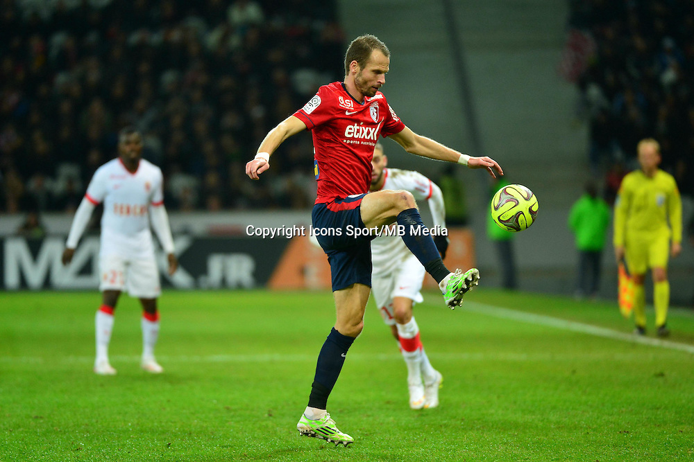 David ROZEHNAL  - 24.01.2015 - Lille / Monaco - 22eme journee de Ligue1<br />