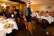 """Catwalk models in Brown Thomas at the Hotel Meyrick """"Bubbles & Delights"""" Fashion Soiree in aid of Childline ISPCC, where guests were treated to a race themed fashion showcase by Galway's leading boutiques & outlets"""". Photo:Andrew Downes"""