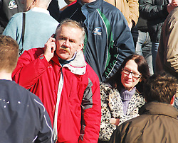 Pat and Mary Dunning enjoying the rugby schools final...Pic Conor McKeown