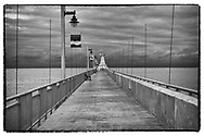 The west breakwater re-opened for pedestrians late summer 2015 after being closed for many years for safety reasons.