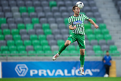 Nikola Nikezic #18 of Olimpija during football match between NK Olimpija Ljubljana and NK Domzale in 20th Round of PrvaLiga NZS 2012/13  on November 17, 2012 in SRC Stozice, Ljubljana, Slovenia.(Photo By Matic Klansek Velej / Sportida)