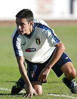Coverciano 8/10/2003 <br />