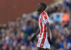 Kurt Zouma of Stoke City - Mandatory by-line: Paul Roberts/JMP - 04/11/2017 - FOOTBALL - Bet365 Stadium - Stoke-on-Trent, England - Stoke City v Leicester City - Premier League