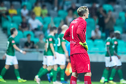 Grega Sorcan of NK Domzale during football match between NK Olimpija and NK Domzale in 2nd Round of Prva liga Telekom Slovenije 2019/20, on July 21st, 2019, in Stadium Stozice, Ljubljana, Slovenia. Photo by Grega Valancic / Sportida