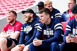 Jack Ingstrall Bristol Bears Team Run ahead of the Sale Sharks Game - Rogan/JMP - 02/05/2019 - RUGBY UNION - Ashton Gate Stadium - Bristol, England - Bristol Bears v Sale Sharks - Gallagher Premiership Rugby.