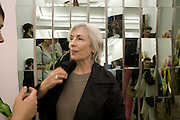 JEAN MILLER, Exhibition of New sculptures by Gary webb incorporating man-made and natural objects. The Approach, Mortimer St. London. 15 May 2008. Afterwards at Mark Hix's restaurant. Smithfield.  *** Local Caption *** -DO NOT ARCHIVE-© Copyright Photograph by Dafydd Jones. 248 Clapham Rd. London SW9 0PZ. Tel 0207 820 0771. www.dafjones.com.